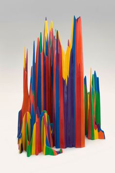 * Sculpture by Sol Lewitt.