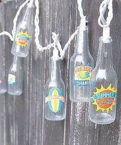 Loving this Summer Beer String Lights on #zulily! #zulilyfinds