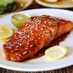 Asian sesame salmon #Food #Recipe #Yummy #Meals #Dinner #Chef #Cook #Bake #Culinary