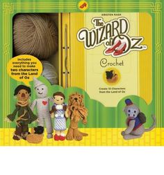 Embrace your inner child and follow the step-by-step instructions to create your very own characters from Oz, including Dorothy, Toto, Tin Man, Scarecrow, Lion, a flying monkey, the good witch, the wicked witch, and more! - Beautiful photography along with step-by-step instructions.- Perfect for film buffs, crafters, yarn enthusiasts, and lovers of all things Oz.