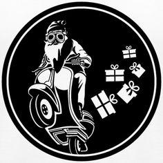 NIKOLAUS AUF MOTORRAD, MOTORRAD BILDER, SHIRT