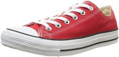 Converse Chuck Taylor All Star Core Low Top Red M9696 Mens 6.5