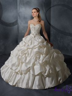 southern bell style wedding dress