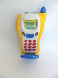 Telefone Celular Brinquedo Infantil Com Luzes E Som Navystar - R$ 20,00
