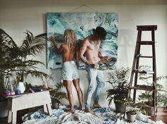 #australia #art #love #blue #painting