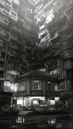 ryanpanos: Buildings have feelings too by onomatoh town, Travel makes it possible to stand outside power. / outside power