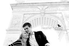Hailey & Brad NYC Engagements- Heather Tycksen