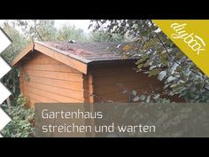Gartenhaus schwedenhaus streichen Do it yourself - mein Holzhaus im Garten
