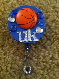 University of Kentucky Basketball Rhinestone Badge ID by jnbenge