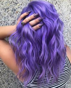 Hair, hair color shades, lilac hair, hair color purple, hair co Lavender Hair Colors, Cute Hair Colors, Hair Dye Colors, Cool Hair Color, Unique Hair Color, Darker Hair Color Ideas, Amazing Hair Color, Hair Goals Color, Hair Color Shades