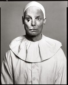 """Bill Irwin, actor, in """"The Harlequin Studies,"""" New York City, July 2003 Copyright © 2008 The Richard Avedon Foundation America Images, Send In The Clowns, Circus Performers, Richard Avedon, Hollywood Actor, Famous Faces, Portrait Photographers, Portraits, New York City"""