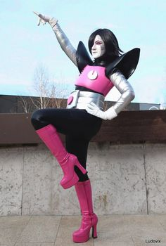 Mettaton Ex - Let's Dance ! by AngelAngelyss on DeviantArt Mettaton Ex, Lets Dance, Knee Boots, Cosplay, Deviantart, Let It Be, Facebook, Inspiration, Fashion