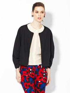 Iris Darted Collarless Jacket by Marc by Marc Jacobs on Gilt.com