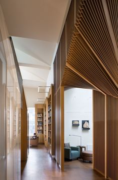 Hallway At The Joukowsky Institute By Anmahian Winton Architects