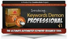 Keyword Demon is a high quality desktop software designed to cut your subscribers research time by more than 90%! This software rivals all the major keyword research softwares currently on the market with MORE features, MORE automation and MORE time saving than any other competitor. Read more : https://sites.google.com/site/keywordsdemon/