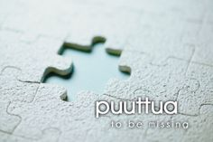 puuttua ~ to be missing