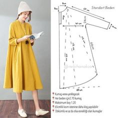 Dress Pattern Look! Dress Pattern Look! Dress Pattern The post Look! Dress Pattern appeared first on New Ideas. Dress Pattern Look! Dress Pattern The post Look! Dress Pattern appeared first on New Ideas. Fashion Sewing, Diy Fashion, Ideias Fashion, Fashion Fabric, Fashion Clothes, Fashion Dresses, Womens Fashion, Diy Clothing, Sewing Clothes