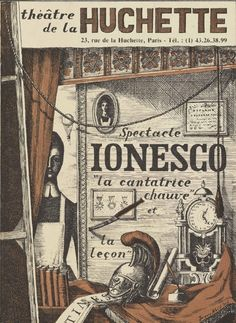 Theater program Eugène Ionesco