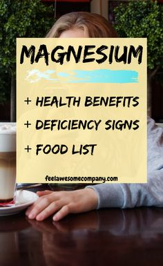 Magnesium is a wonderful mineral that helps us stay young, healthy and strong. A magnesium deficiency in your body can make you age faster! Brain Nutrition, Health And Nutrition, Women's Health, Mental Health, Benefits Of Magnesium Supplements, Weight Loss Supplements, Clean Eating Meal Plan, Fitness Workout For Women, Sleep Remedies