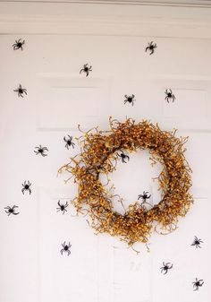 Keep your house looking spooky with this DIY magnetic spider tutorial by Delia Randall.