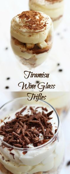 Perfect for dinner parties, Tiramisu Wine Glass Trifles are a twist on the classic Tiramisu. Rich, creamy and elegantly portioned. This will be the star of your dinner.