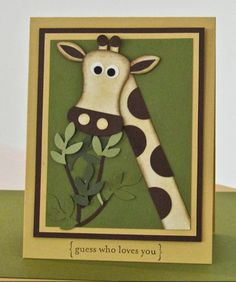 For more information please visit http://brandyscards.com/2011/06/punch-art-giraffe/