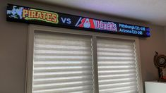 Home Office showing scores and betting odds Office Organization At Work, Office Setup, Office Decor, Office Ideas, Desk Ideas, St Louis Cardinals Man Cave Ideas, Office Interior Design, Office Interiors, Men's Home Offices