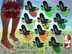 ::Toxxic:: Pandora Lucky Ballet Flats for Slink (will fit Belleza)