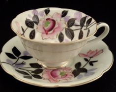 Tea Cup and Saucer by typewritersandthings on Etsy   .....................................Please save this pin.   ............................................................. Click on the following link!.. http://www.ebay.com/usr/prestige_online