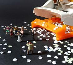 Playful Snapshots of Miniature Scenes Around the Office - My Modern Metropolis