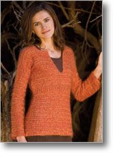 Robyn Chachula's Rosemary Sweater, #4 yarn