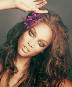 Tyra, such an amazing woman. I love her.