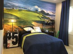 Amazing Golf Themed Room For Teen U2026