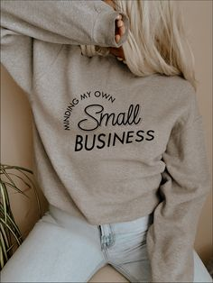 Crew Neck Sweatshirt, Graphic Sweatshirt, Crewneck Sweater, Women Lifting, Silhouette Designer Edition, Shirts With Sayings, Woman Quotes, Funny Quotes, Humorous Sayings