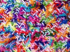 crochetbug, crochet rectangle, scrap yarn ball, tweeded crochet, crochet pet mat, kitty litter crochet mat Scrap Yarn Crochet, Crochet Pet, Freeform Crochet, Crochet Animals, Cat Mat, Yarn Ball, Crochet Projects, Things To Come, Kitty
