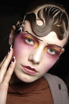 Makeup Artist: Pat Mcgrath (will be doing a article on her in the up coming week)