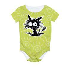 GABIGABI All Over Print Baby Bodysuit ! :D #Cat #kitten #AllOverPrint #Baby #Bodysuit #CafePress