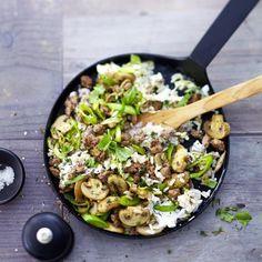 Gemüse-Tatar-Pfanne | Weight Watchers