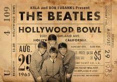 Original de que los Beatles imprimir: Vivo en el Hollywood Bowl. Se trata de un original diseño inspirado en las clásicas actuaciones de artistas legendarios. Este llamativo cartel estilo vintage grabado sería un gran regalo para cualquier fan de The Beatles. Celebra las actuaciones de 1965 legendario de cantantes en el Hollywood Bowl. ESTAS IMPRESIONES PUEDEN SER PERSONALIZADAS A OTRA FECHA, ÉNTREME EN CONTACTO CON PARA MÁS DETALLES. Todas nuestras impresiones se producen los más altos e...