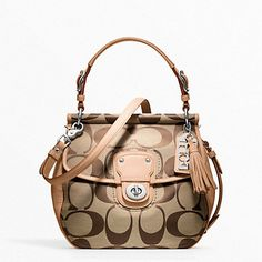 SIGNATURE NEW WILLIS, I really really really need to add this to my COACH collection!