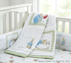 Peter Rabbit Nursery Bedding From Pottery Barn Kids That I Love