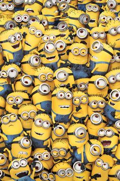 A great gift for Despicable Me and Minions fans both young and old, this poster will look great framed or hung on any wall!Poster printed on h.