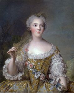 Madame Sophie of France, 1748.   Current location: Palace of Versailles, accession number: MV4458