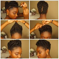 Chic Protective Style @nae2curly - http://community.blackhairinformation.com/hairstyle-gallery/braids-twists/chic-protective-style-nae2curly/