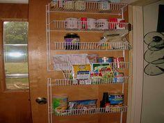 Over The Door Pantry Organizer Ideas ~ Http://modtopiastudio.com/neat