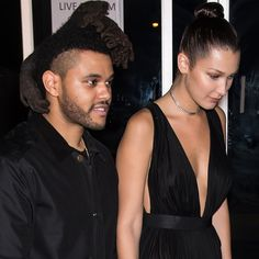 Bella Hadid and The Weeknd Hold Hands During a Cute Night Out