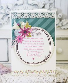 Great Purpose Card by Melissa Phillips for Papertrey Ink (August 2015)