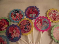 12+WINX+CLUB+Party+Cupcake+Toppers++by+InspirationsToCraft+on+Etsy,+$8.00