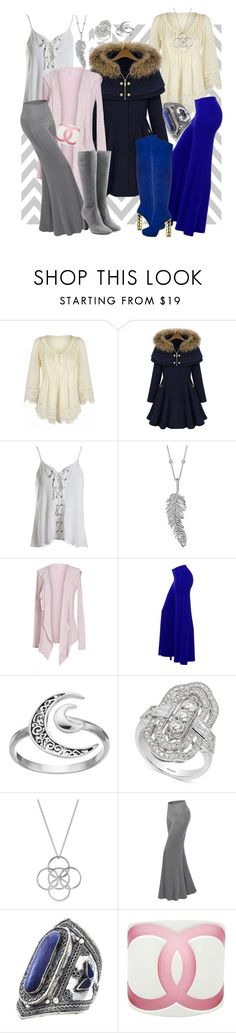 """""""Tish-Tosh"""" by april-wilson-nolen ❤ liked on Polyvore featuring Sans Souci, Penny Preville, Velvet by Graham & Spencer, ShoeDazzle, Primrose, Effy Jewelry, Liwu Jewellery, Chanel and L'Autre Chose"""