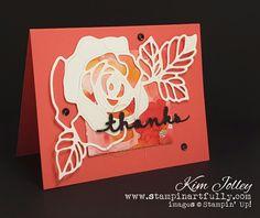 Stampin Artfully: Rose Wonder/Rose Garden Thinlits Bundle